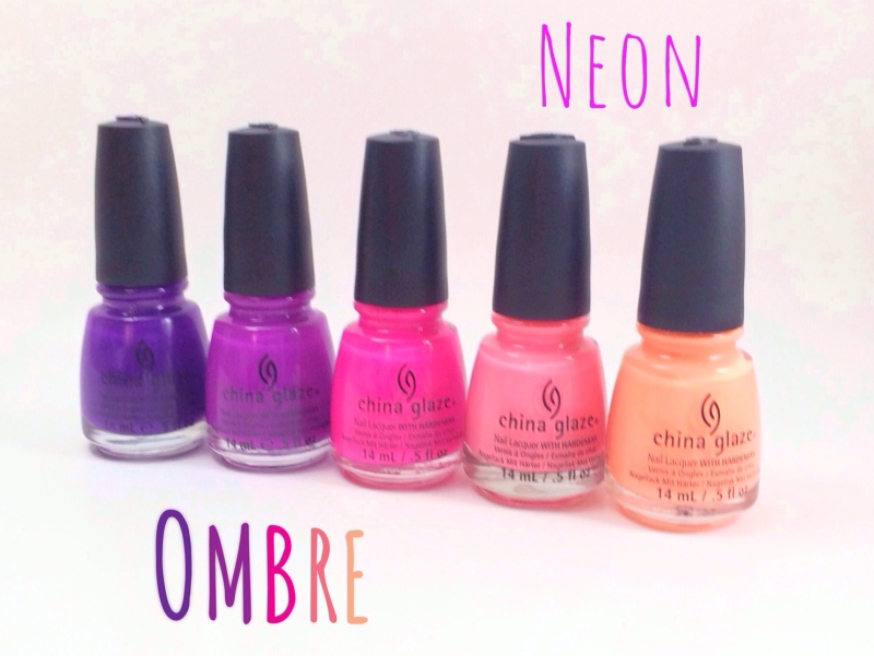 From left: Creative Fantasy, Are You Jelly?, Heat Index, Neon & On & On, Son Of A Peach