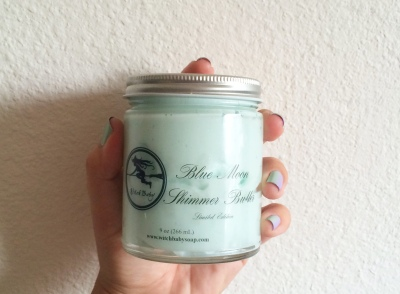 Fancy Finger Guns WBS - Blue Moon body butter