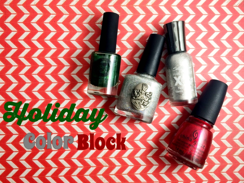From left: ILNP's A Fresh Evergreen, Nox Twilight's Disco Darling, Sally Hansen's Celeb City, China Glaze's Just Be-Claws